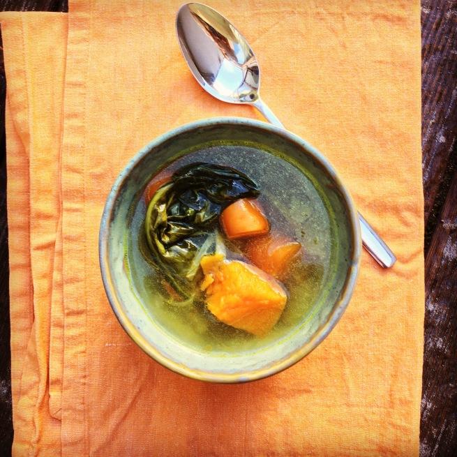 wohltuende Gemüsesuppe